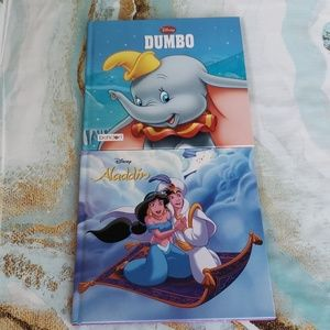 Set of 2 Disney Books